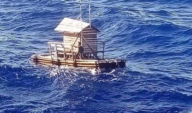 小木屋在海上「漂流49天」獲救 他直接上演真實版《少年PI》!