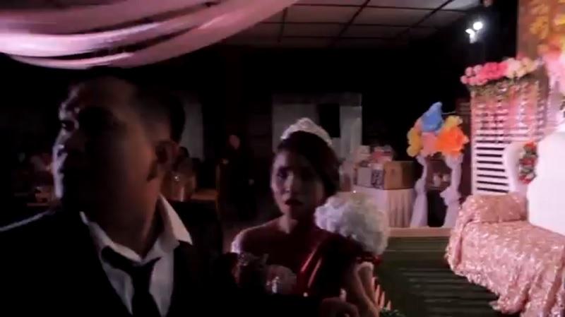 菲律賓遭龍捲風狂掃!婚禮會場「瞬間漆黑」新娘嚇慘:我的天啊...
