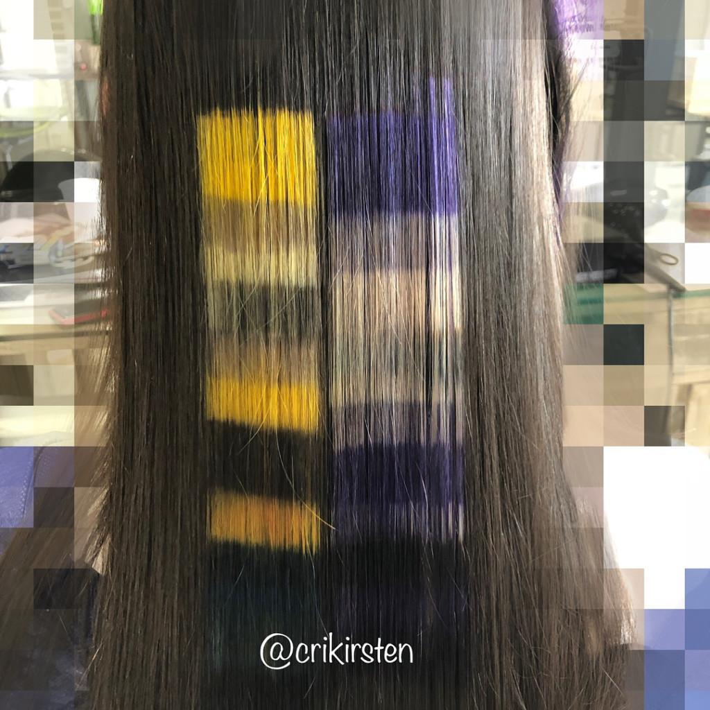 染髮新境界!全新「圖案像素染髮」正夯 黃黃色塊一撥開...是皮卡丘♡