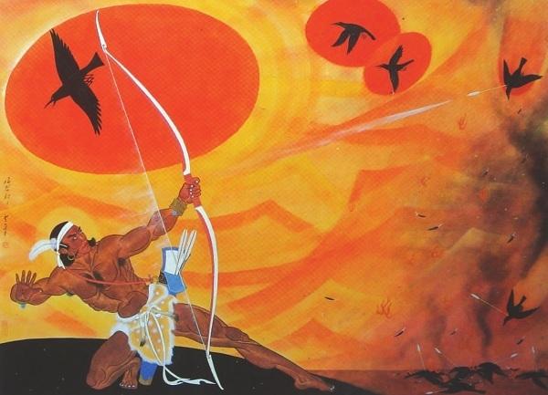 「嫦娥奔月」其實是悲劇!后羿為一顆仙丹翻臉嫦娥 最後驚覺「不該射下9個太陽」