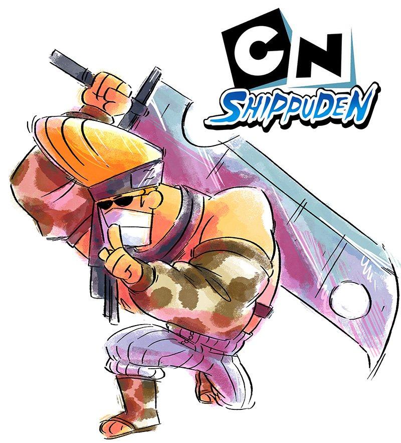 把知名卡通人物結合《火影忍者》!你認得出飛天小女警是火影哪三人嗎?