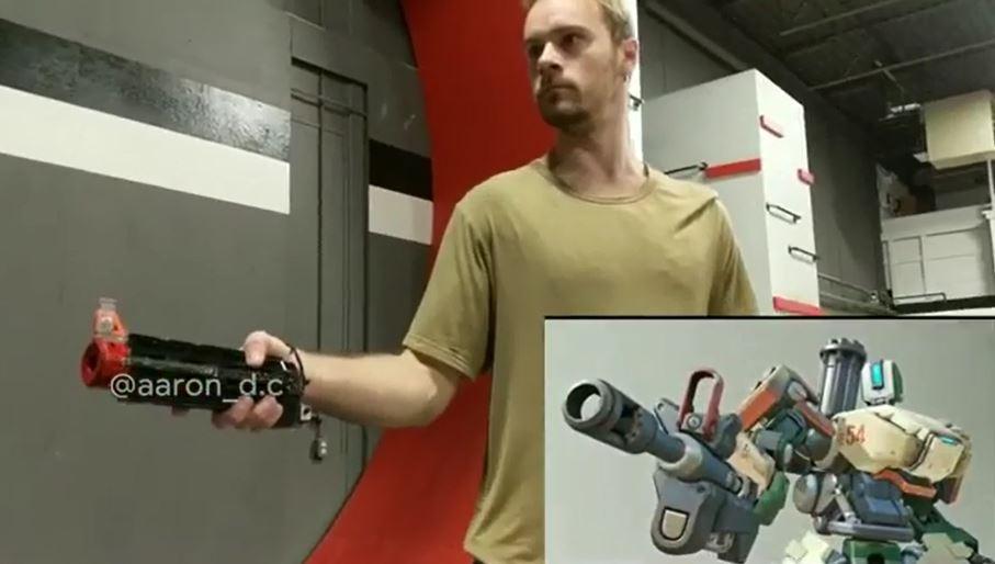 神玩家完美還原Overwatch精彩鏡頭 源氏牛仔「特技+翻滾」只是小Case!