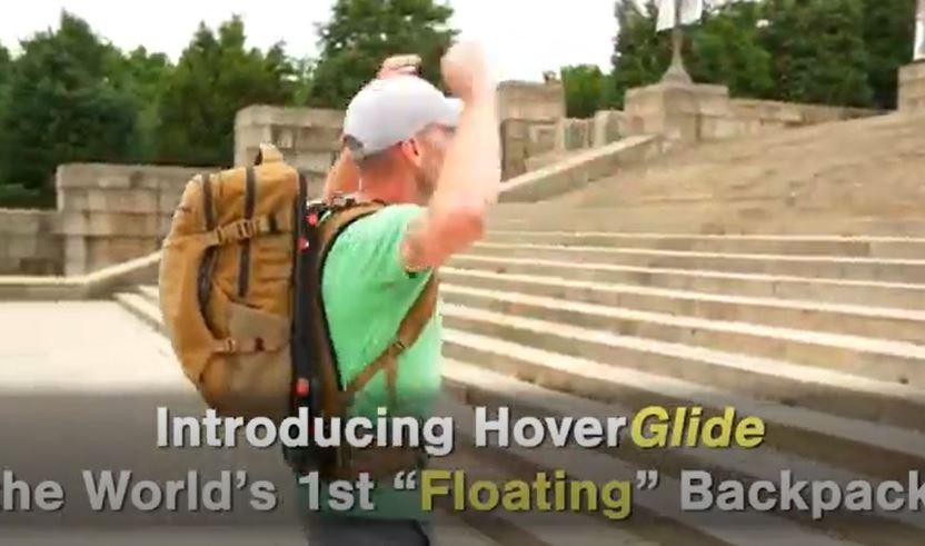 跑步不再甩來甩去!「永遠都漂浮著」的懸浮背包登場:還超防水唷