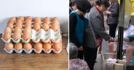 藥局「開幕送禮物」民眾搶瘋 老婦為「5顆免費雞蛋」排到憋不住
