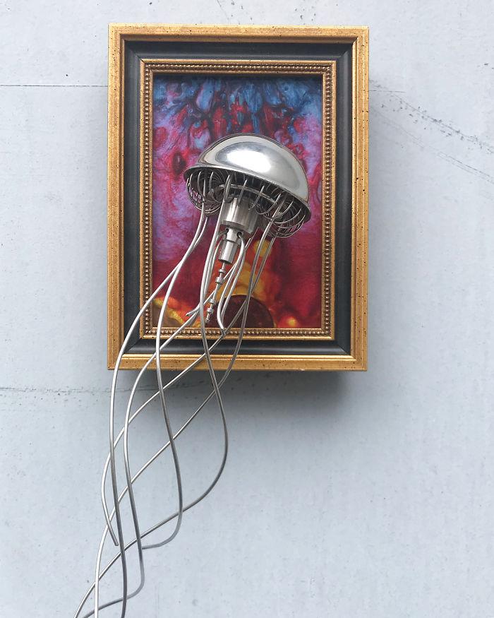 這些藝術品「高檔到脫褲子」 精緻創作的素材都是你看不起的破銅爛鐵!