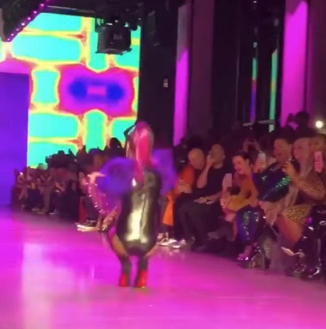猴腮雷!模特兒走秀瞬間「voguing摔」 下秒起身繼續走又摔…網大讚:這舞蹈絕妙