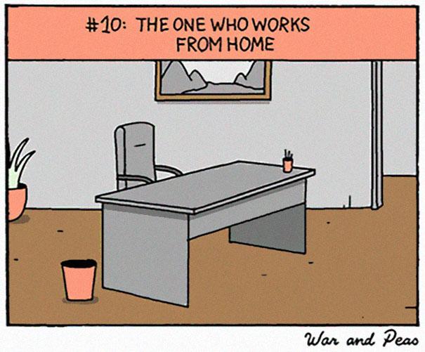 每個辦公室一定會有的「10種同事類型」 迷信星象的出包都怪水逆!