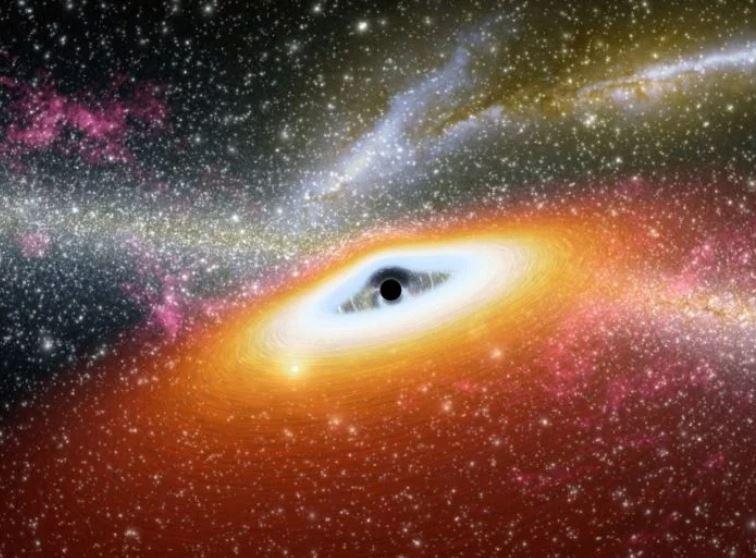 巨大黑洞射出「七彩電光火」宇宙瞬間亮 科學家驚呆:這是第一次看見!