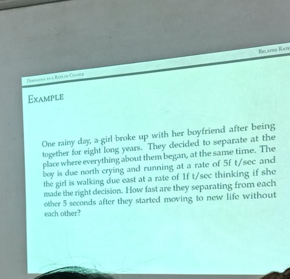 算數學算到鼻酸...老師把「超淒美愛情」融入數學題 網友:心疼到無法計算!