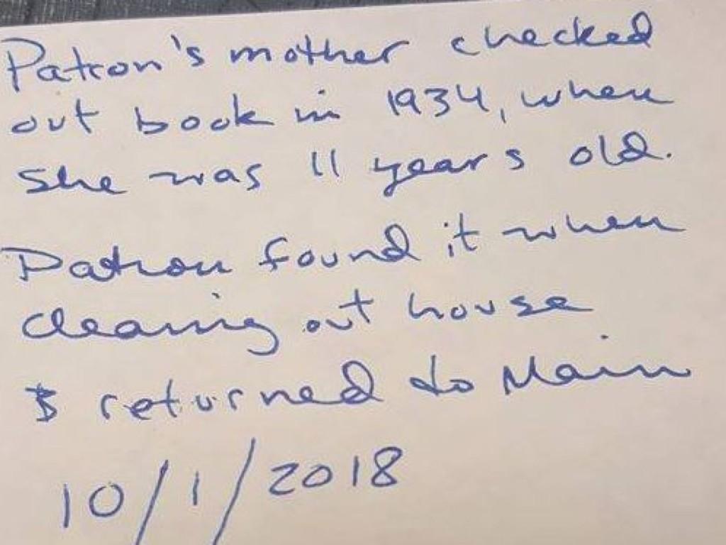 圖書館收到「逾期84年的書」館員嚇傻 當年小女孩→結婚生子:請問罰款是...