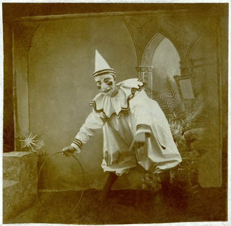 16張「恐怖到讓人想作嘔」的古老小丑 能忍著看完的都是超勇猛人類