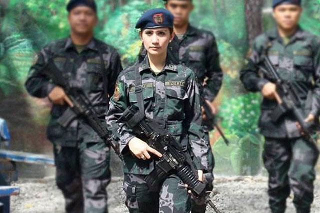 杜特帝指名一定要她!「菲國警界之花」美到入選環球小姐 手腳卻比男人還狠!
