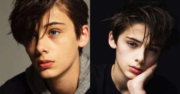 13歲「世界第一美少年」暴紅 迷人藍眼偷走姐姐們的心:我願意等他長大~