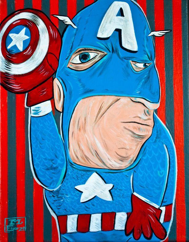 如果畢卡索還活著...15位「長這樣不如當反派」的超級英雄!