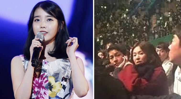 宋宋夫妻坐台下聽演唱會到最後一秒 IU終於坦白:他們讓我壓力好大!
