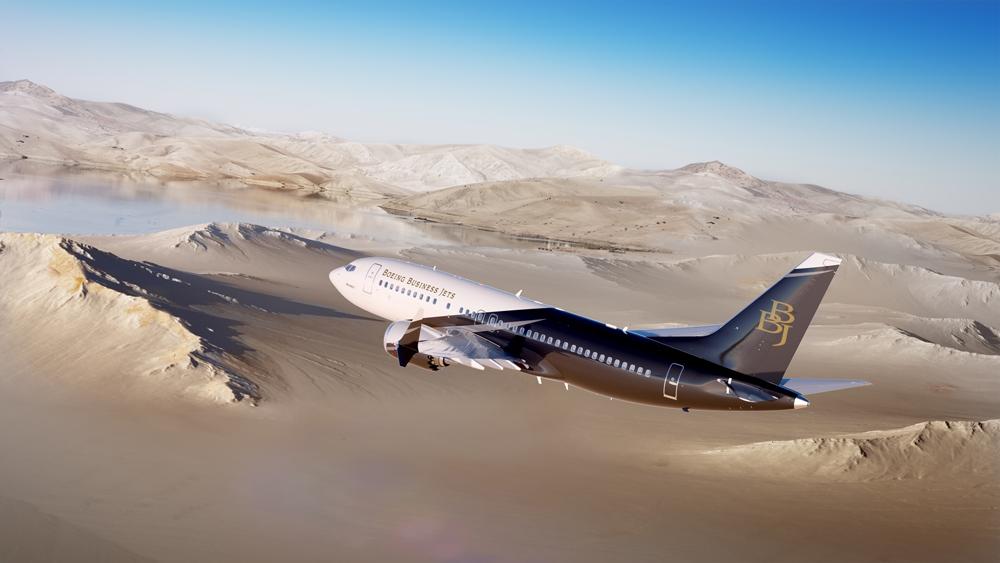 這架飛機外型沒有不同 但走進去驚見「移動式皇宮」超狂高科技臥室...而且有錢一定搭的到!