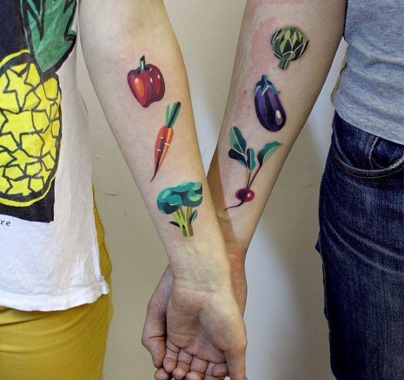 25個能夠經得住時間考驗的「最美情侶刺青」 俄羅斯方塊:你就是我失去的那一塊♥