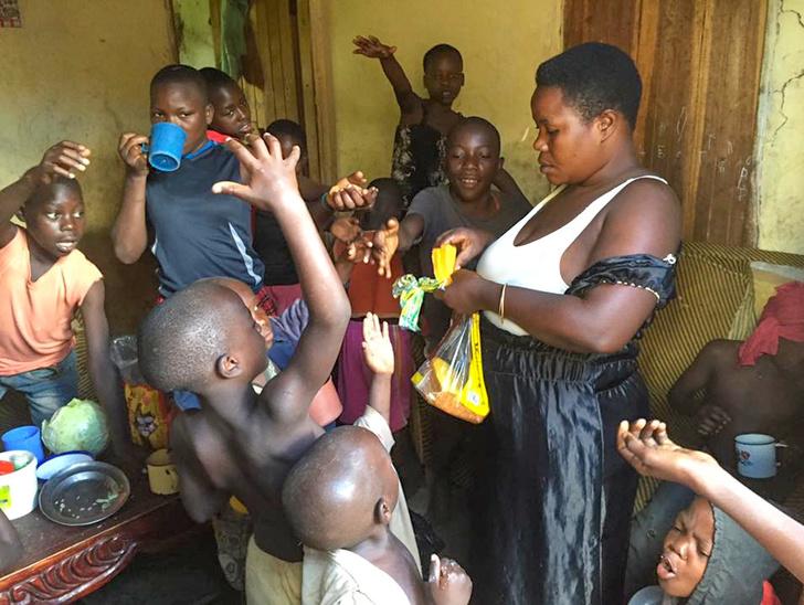 烏干達女超人獨自養38個小孩 「台灣人的日常」讓她甘願奔波一生