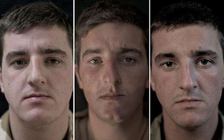 他拍14位士兵「打仗前後的改變」 凱旋歸國時眼裡少了人性...
