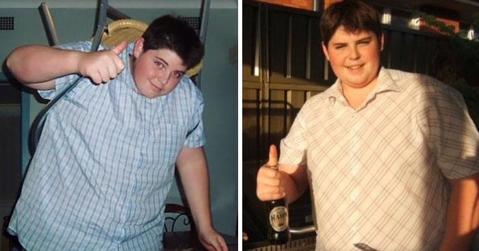 154公斤胖弟登上「火辣消防員月曆」 花10年變身超值得!