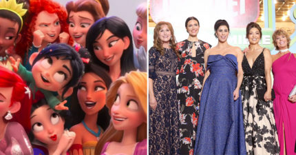 《無敵破壞王2》首映會「10位迪士尼公主」同時現身 愛莎帶安娜出席變女人戰爭!