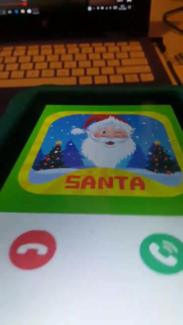 媽下載聖誕老人通話APP 轉身竟看到女兒正在「聽撒旦的低語」:我會找到你然後做掉你...