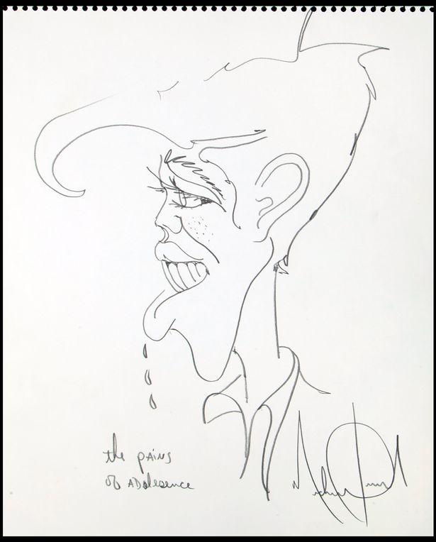 麥克傑克遜的醫生公開「幾乎比歌曲還值錢的遺作」 自畫像幾筆畫直接喊價500萬!