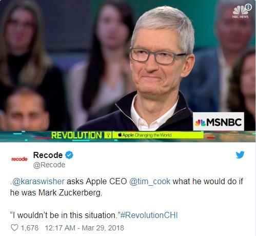 他真的hen生氣!蘋果大爆「臉書就是出賣隱私」 祖克柏森氣氣下令:員工通通給我換Android的 (哼)