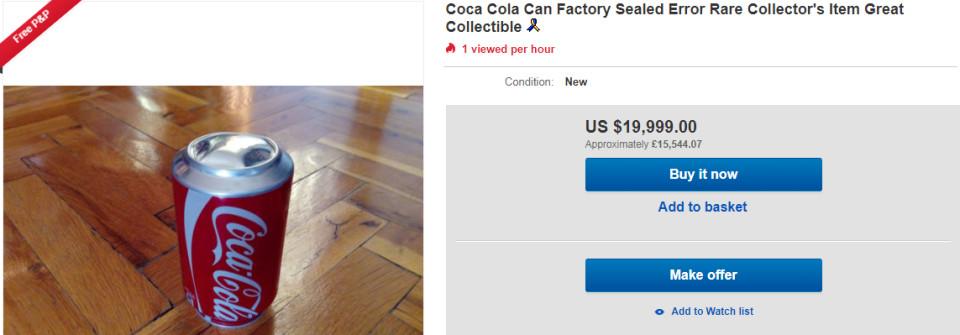 倒楣姐買到「瑕疵可樂」氣pupu倒桌上 拍影片討拍卻被笑蠢...62萬掰掰~