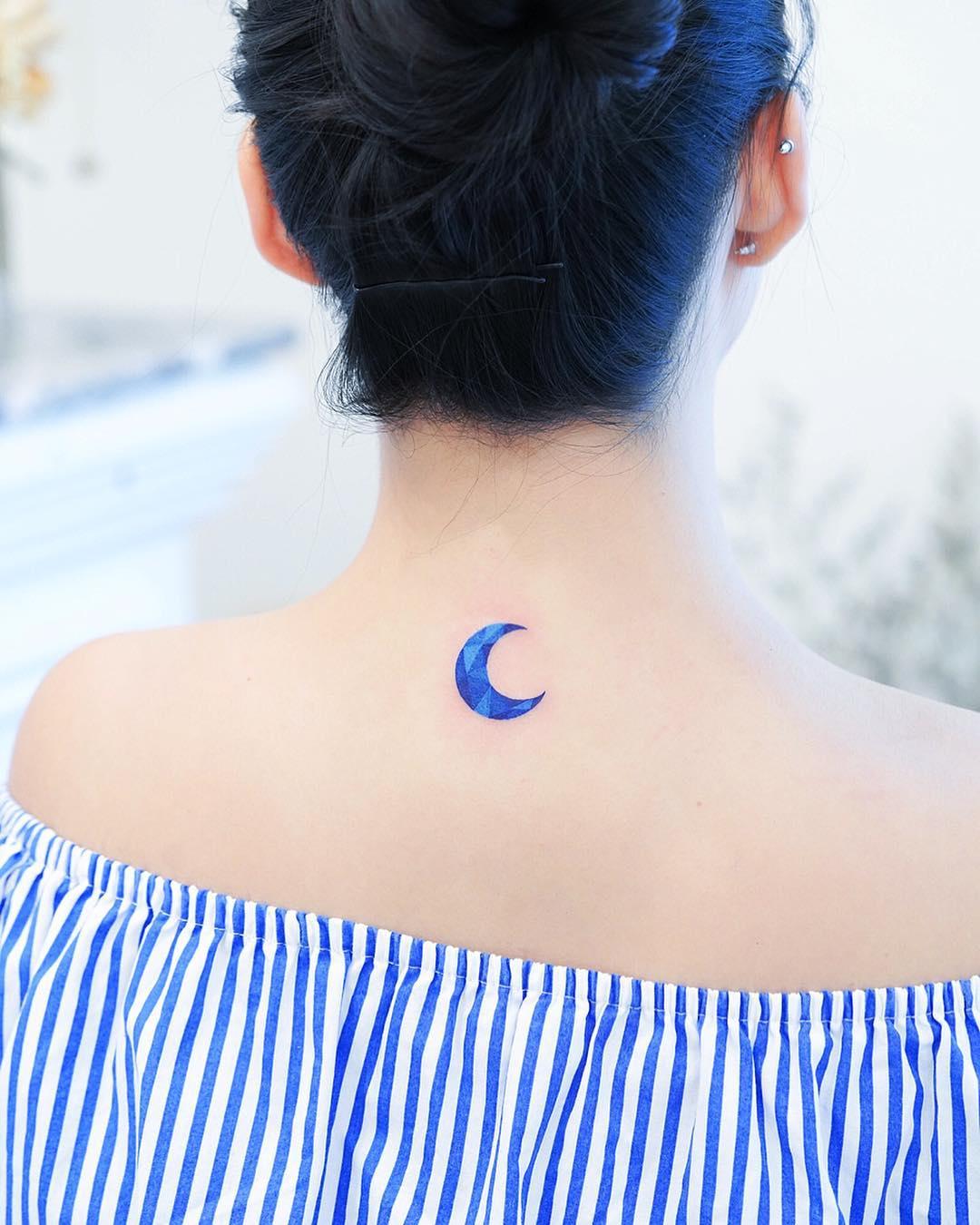 25張其實真的不會痛的「文藝風刺青」 肩膀灑出星星海超夢幻♥