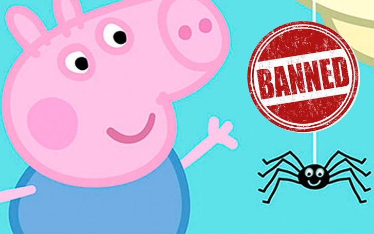 10個「打破你世界觀」的驚人事實 《粉紅豬小妹》因為蜘蛛被澳洲禁播