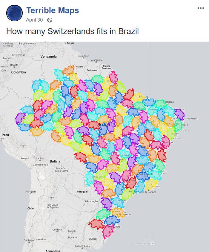 20個重新認識地球的「最幽默世界地圖」 波士尼亞人都不能游泳?