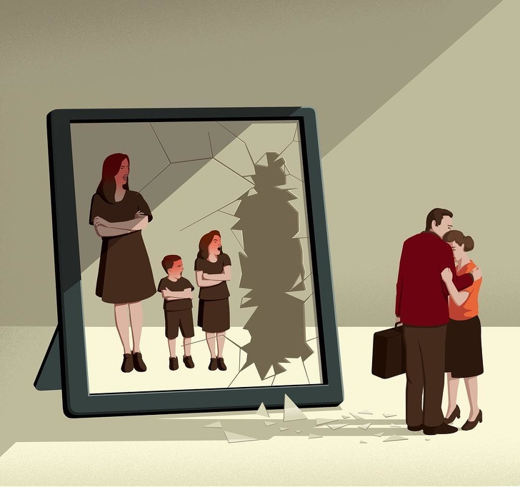 19張讓你想「把童話全部燒掉」的人性黑暗插畫 出社會就是一個不斷被洗腦的過程