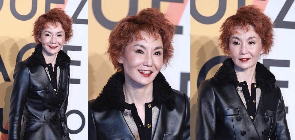 54歲張曼玉受邀上台 「橡皮緊繃臉」露面嚇傻台下粉絲:微笑有點毛到骨子裡