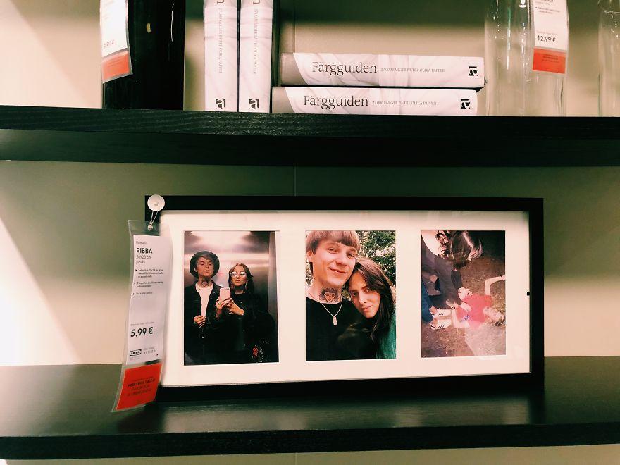 情侶挑戰「把IKEA全部照片都換成自拍」 從廁所攻佔到整間商場直接變代言人!
