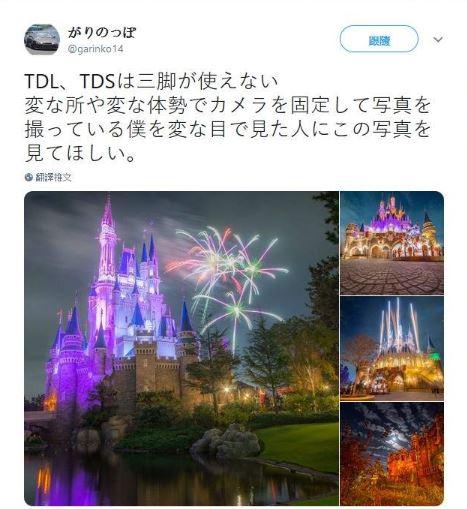 日本推主揭密:迪士尼樂園有人「玩123木頭人」不要打擾對方 可能毀掉他的心血!