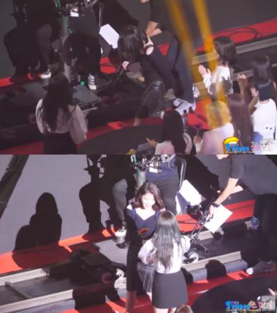 IU巡迴演唱會邀TWICE當嘉賓 娜璉遞向日葵偷比愛心完全是「最成功迷妹」