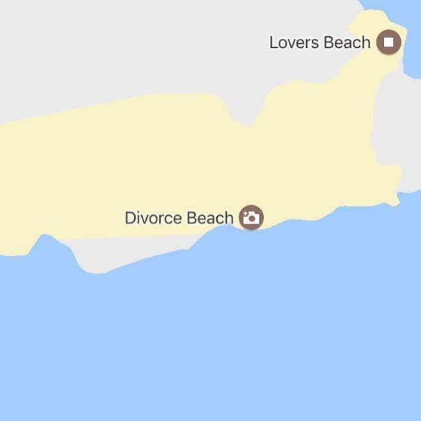 30張地圖揭發全球「最絕望透頂」的爆笑路名 墨西哥竟然有離婚沙灘...