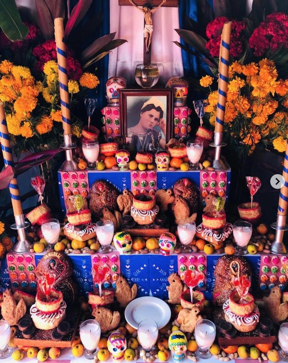 亡靈者回到人間是尊敬的 墨西哥「悼念離開的人」靈堂美到像裝置藝術!