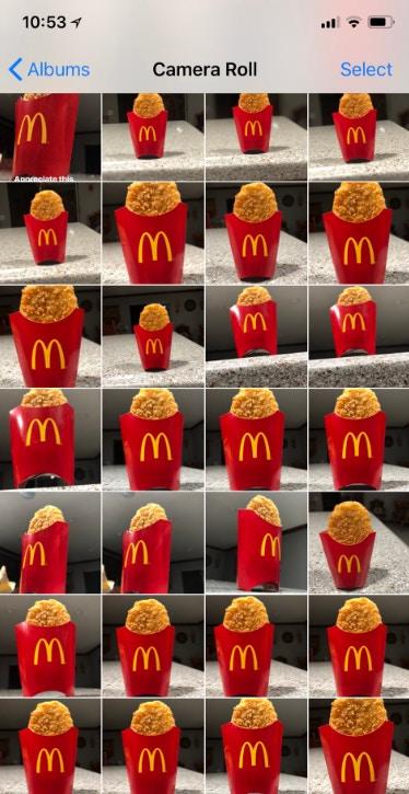 貪杯男凌晨衝麥當勞!記憶體滿滿都是「最愛の薯餅照」 醒來發現70萬人按讚:這太癡情XD