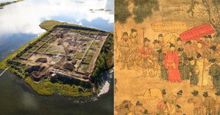 俄羅斯湖中央驚見「中式古代建築」 唐朝公主因「安史之亂」遠嫁...後人卻不想再住這!