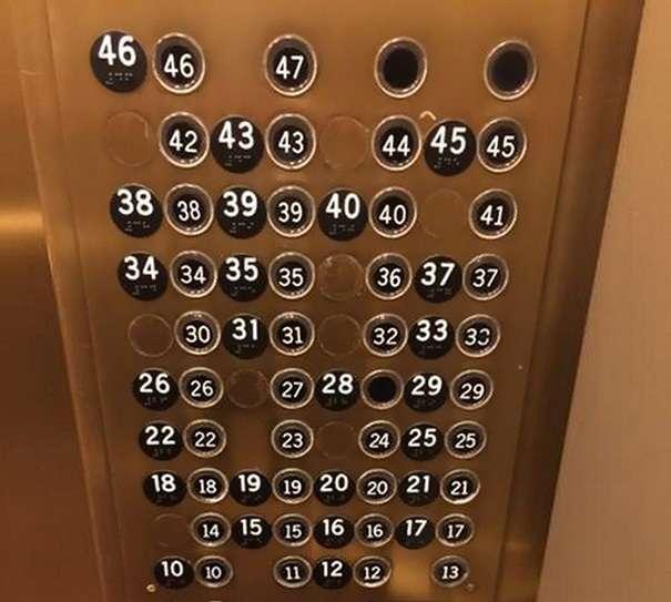 20個「設計師絕對有嗑」的超詭異設計 進電梯按樓層「先解摩斯密碼」!