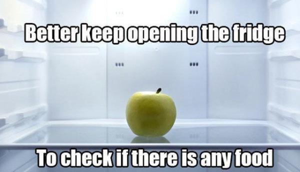 18個你我都做過「卻不想承認的蠢事」 把冰箱打開慢慢關上...看燈什麼時候關XD