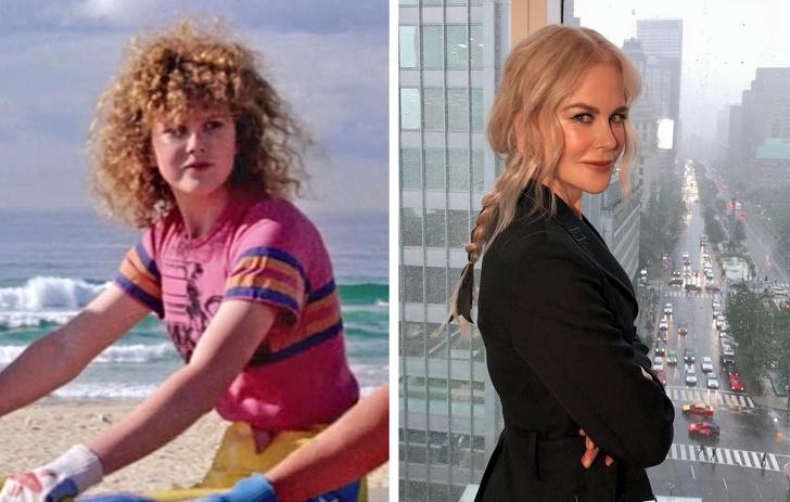 16張「明星長大前後」的驚人對比照 妮可基嫚果然是水行俠的媽!