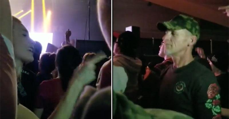 辣妹在演唱會佔超大位 激動對老爸揮手...影片PO網揭開感人故事:那是手語!
