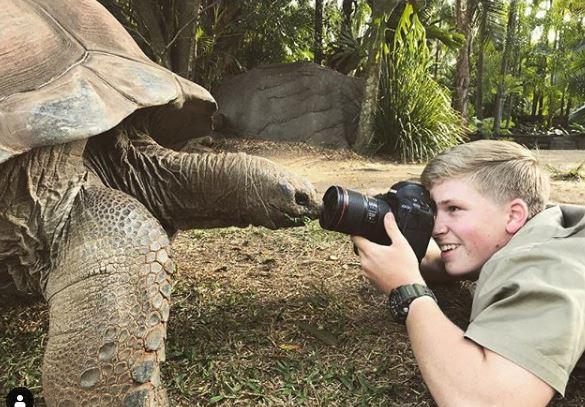 嫩弟攝影師「直接零距離貼臉象龜」 拍出10張「比國家地理頻道還狂」生態照!