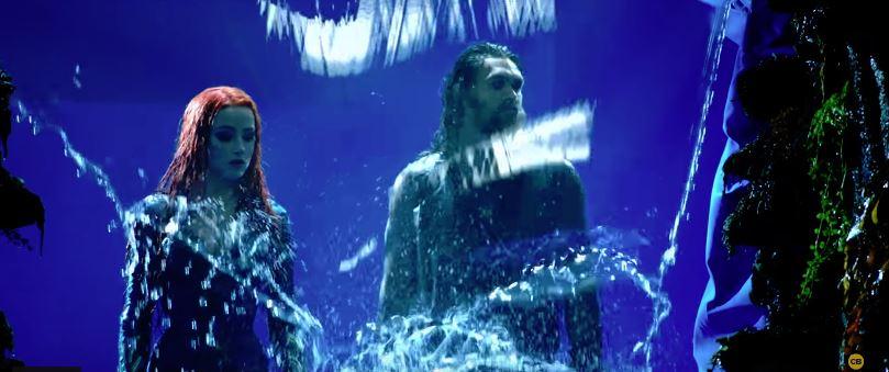 《水行俠》沒有特效超尷尬!「海王→洗髮精代言人」霸氣全沒了 對空氣傻笑的反派超萌❤️️