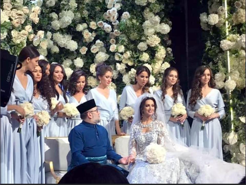 馬來西亞新元首太太結婚「挖出年輕滾床實境秀」 白目製作單位承認:對啊!就是她~