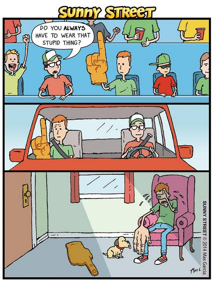 24張「壞到讓你忍不住笑出來」的黑色幽默漫畫