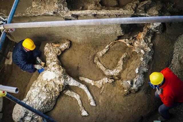 龐貝古城挖出「超完整法拉利化石」 全身掛滿超頂級飾品...2000年前身價比人還高!
